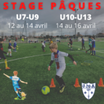 Stage de football - Pâques 2021