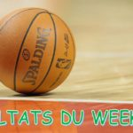 Résultats basket du 20 et 21 janvier