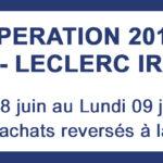 Opération 2018 : JAB - LECLERC IRATY