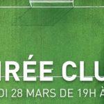 "Soirée 'Clubs"" chez INTERSPORT BAYONNE - Jeudi 28 mars"