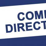 Réunion du Comité Directeur le Mercredi 21 Novembre