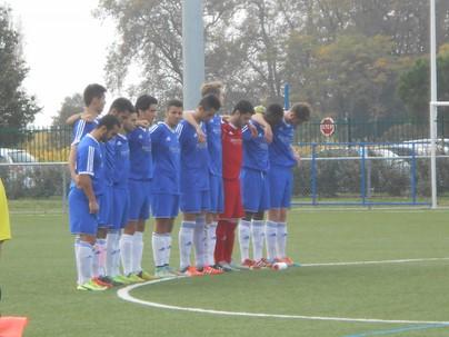 nos joueurs solidaires avec les victimes d'un terrible accident de bus près de St. André de Cubzac