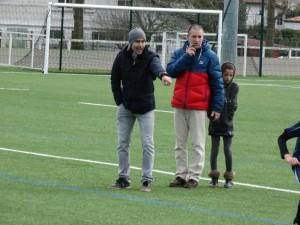 u13 Chakibe et Hervé deux coachs comblés