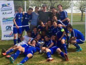Les U17 champions de la Coupe des Pyrénées