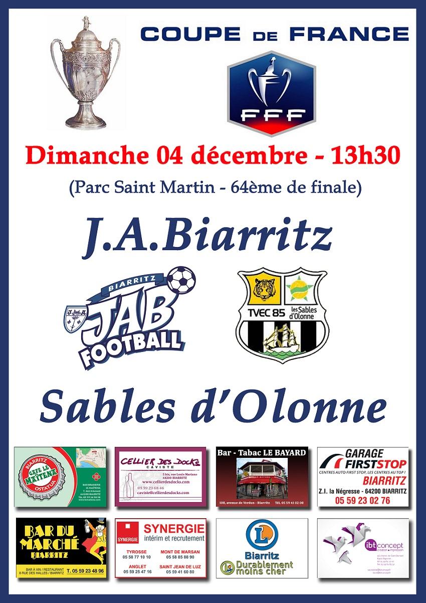 Jab football billetterie coupe de france ce jeudi et - Coupe de france billeterie ...