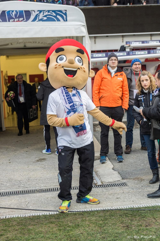 La mascotte Koxka a animé les tribunes