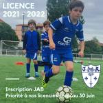 Informations renouvellement licence - saison 2021/2022
