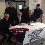 La JAB et les Girondins de Bordeaux partenaires.