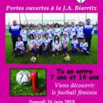 """Journée """"Portes ouvertes"""" du Pôle féminin ce samedi 16 juin"""