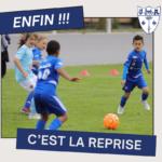 Reprise du football pour les U7-U17