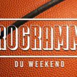 Programme des matchs à venir du weekend du 17/18 novembre.
